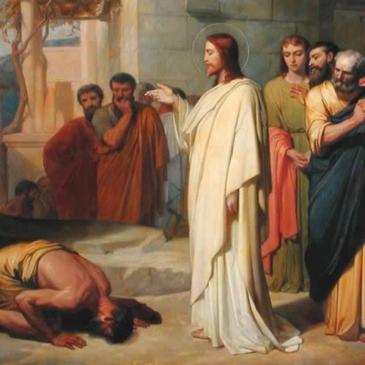 Prostrar-se aos Pés de Jesus